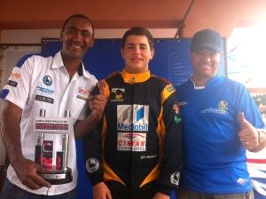 Ari Salgado, Victor Miranda e Alfredo (Tchê)